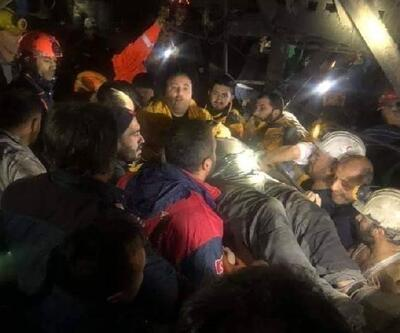 Amasya'da göçükten kurtarılan 3 madenci, taburcu edildi