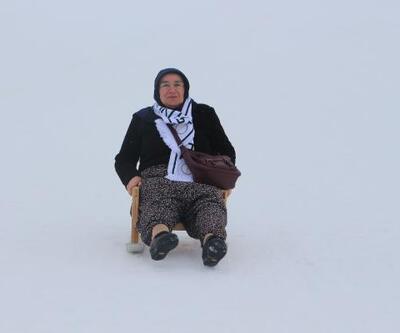 Başçiflik'te kar şenliği düzenlendi