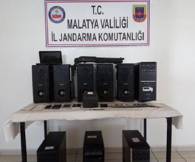 Malatya'da yasa dışı bahis operasyonu: 6 gözaltı