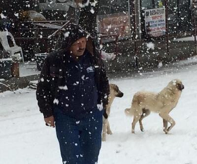Seydikemer'de kar yağışı ulaşımı olumsuz etkiledi