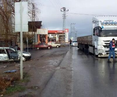 Yozgat'ta okul yolunda kaza: 3'ü çocuk 4 yaralı