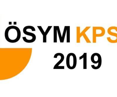 KPSS 2019 ne zaman, hangi oturum saat kaçta yapılacak?