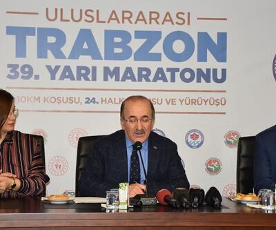 Uluslararası Trabzon 39. Yarı Maratonu heyecanı