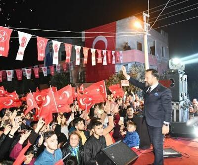 Bilal Uludağ, mahalle toplantılarını sürdürüyor