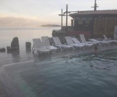 Köyceğiz Gölü taştı, tesisler su altında kaldı