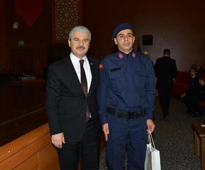 Kırşehir'de kısa dönem erler yemin etti