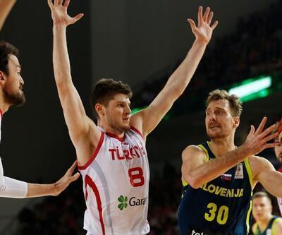 Türkiye - Slovenya: 77-58