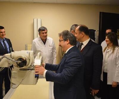 Akkışla entegre hastanesinin röntgen ünitesi hizmete açıldı