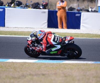 Superbike'ta ilk ayağın ikinci yarışını Bautista kazandı