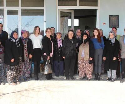 Pehlivanköy'de, kadın çiftçi eğitimi