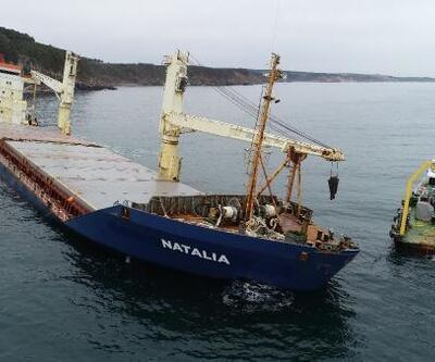 Şile'de karaya oturan gemi 37 gündür kurtarılmayı bekliyor