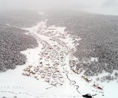 Eğriçimen Yaylası'nda kış, bir başka güzel