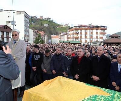 Başdanışman Ahmet Minder'in annesi, son yolculuğuna uğurlandı