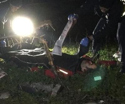 Yoldaki çukura giren kuryenin motosikleti ağaca çarptı: 1 ölü
