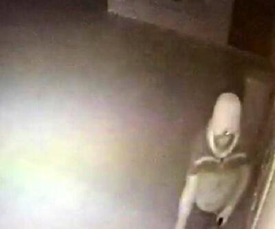 Okul kantininden hırsızlık kamerada