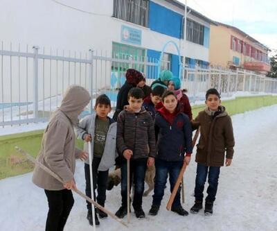 Haymana'da köpeklerin saldırdığı çocuk yaralandı, öğrenciler okula sopa ile gidiyor