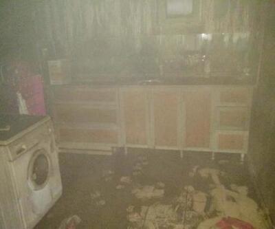 Elektrikli sobadan çıkan yangında 17 yaşındaki Melih öldü