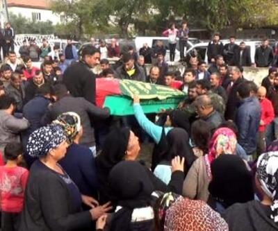 Kayınbiraderinin öldürdüğü 4 çocuk annesi, toprağa verildi