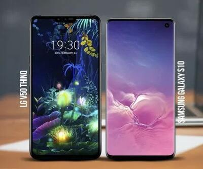 LG V50 ThinQ 5G vs Galaxy S10 5G