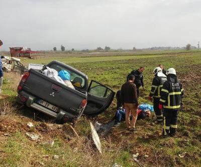 İmamoğlu'nda kaza: 1 ölü, 3 yaralı