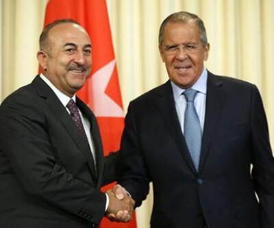 Son dakika... Çavuşoğlu ve Lavrov'dan Suriye görüşmesi