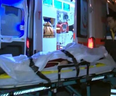 Otomobil yön levhasına çarptı: 1 yaralı