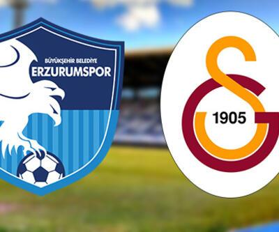 Erzurumspor, Galatasaray maçı ne zaman, saat kaçta, hangi kanalda?