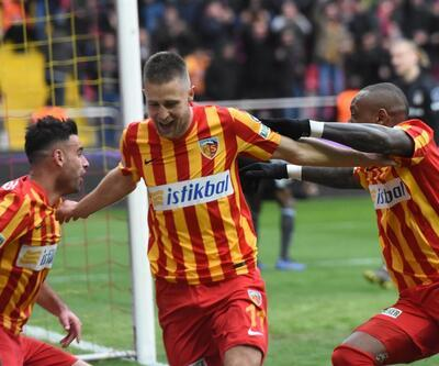 Kayserispor'dan penaltı tepkisi