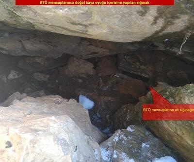 Diyarbakır'da PKK'ya ait 19 sığınak imha edildi