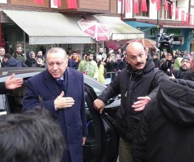 Erdoğan, bedensel engelli yüzücülerle sohbet etti