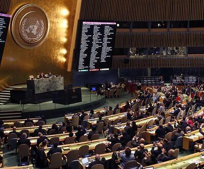 Terör örgütü temsilcileri BM binasında konuşturuldu