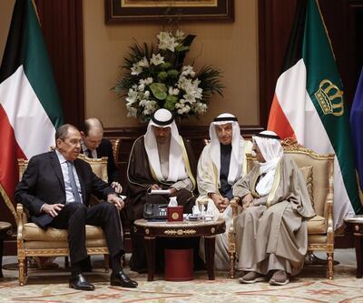 Rusya Dışişleri Bakanı Sergey Lavrov, Kuveyt Emiri ile görüştü