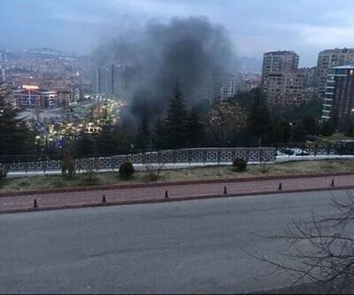 Ankara'da aquapark yangını