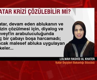 Katar Dışişleri Sözcüsü CNN TÜRK'e konuştu: Katar krizi çözülebilir mi?