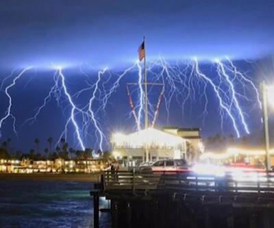 Kaliforniya sular altında kaldı