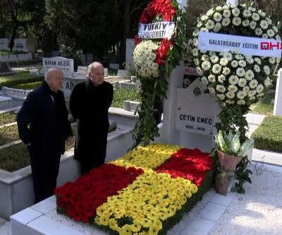 Çetin Emeç ölümünün 29. yıldönümünde mezarı başında anıldı