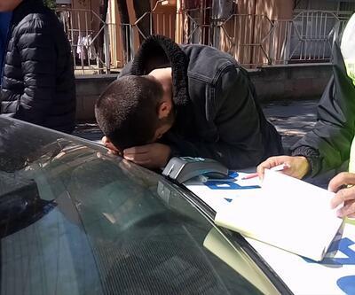 Ehliyetini 4 ay önce alan sürücüye drift cezası