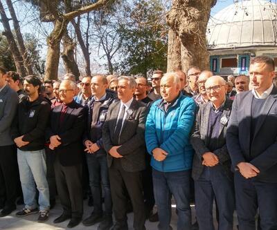Cüneyt Çakır'ın kayınpederi son yolculuğuna uğurlandı