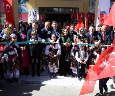 TOKİ Hanımeli Kültür Sanat Merkezi açıldı