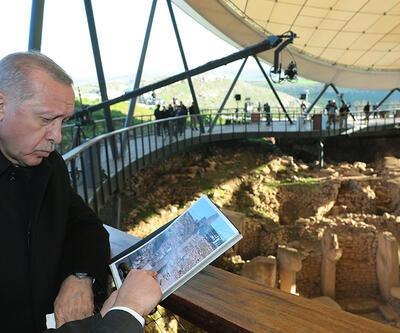 Cumhurbaşkanı Erdoğan Göbeklitepe ören yerinin açılışını yaptı