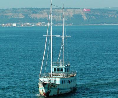 Çanakkale Boğazı'nda hayalet tekne alarmı