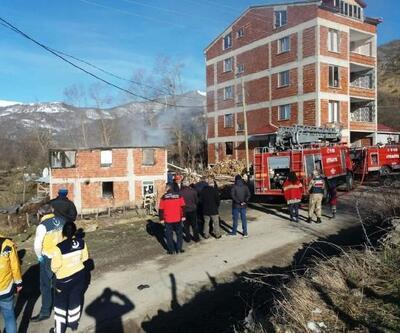 Ordu'da ev yangını: 1 ölü