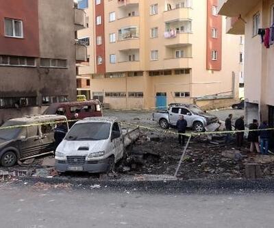 Trabzon'daki patlamanın neden olduğuhasar, sabah ortaya çıktı