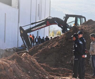 Kanalizasyon çalışmasında göçük: 1 işçi öldü