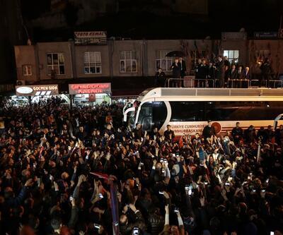 Cumhurbaşkanı Erdoğan vatandaşlara hitap etti