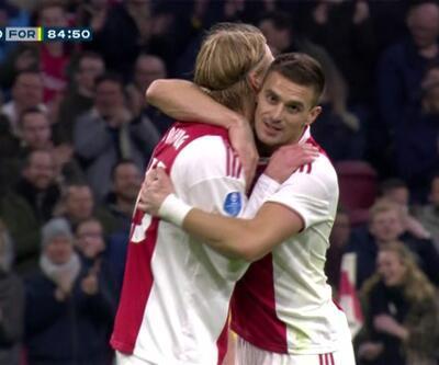 Ajax'da Tadic ve Neres şov sürüyor: 4-0