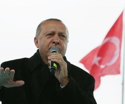 Cumhurbaşkanı Erdoğan Büyükçekmece'de konuştu
