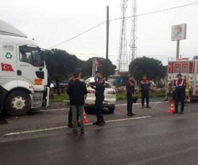 TIR'la çarpışan otomobilin sürücüsü öldü