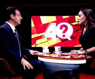 CHP'nin İstanbul adayı Ekrem İmamoğlu, 40 programında soruları yanıtladı