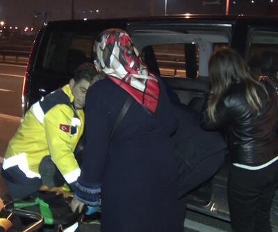 D-100 Karayolu'nda trafik kazası: 1 yaralı